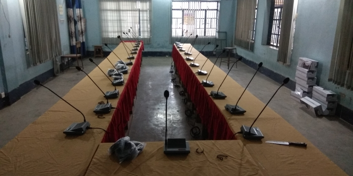 HTDZ Conference System TTC Faridpur Install